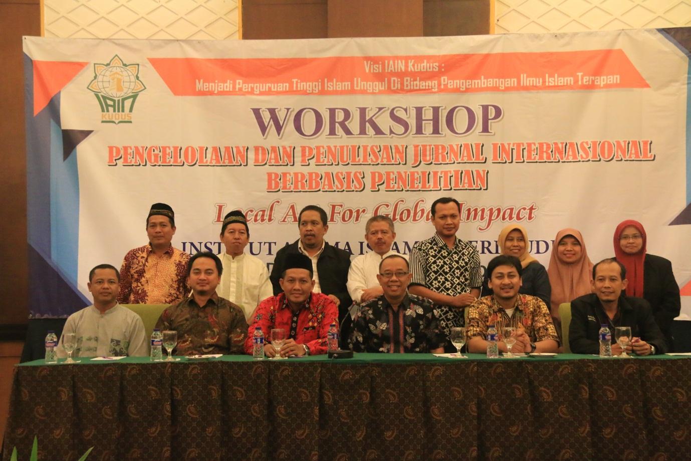 Workshop Pengelolaan dan Penulisan Jurnal Internasional Berbasis Penelitian