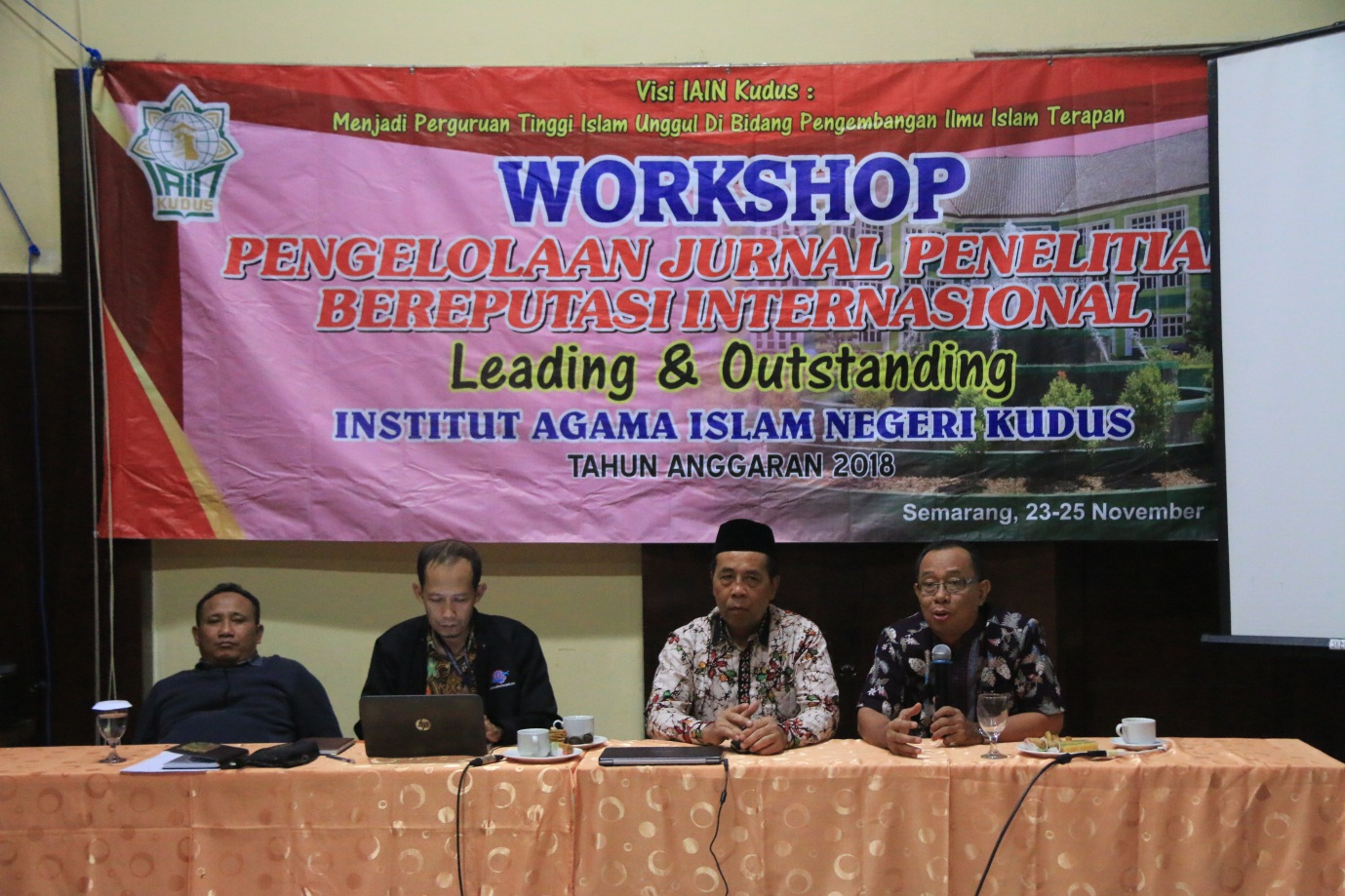Workshop Pengelolaan Jurnal Penelitian Bereputasi International
